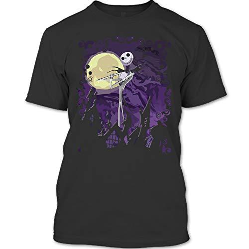 The Nightmare Before Christmas Shirt, Jack Skellington T Shirt Unisex (-,Forest) -