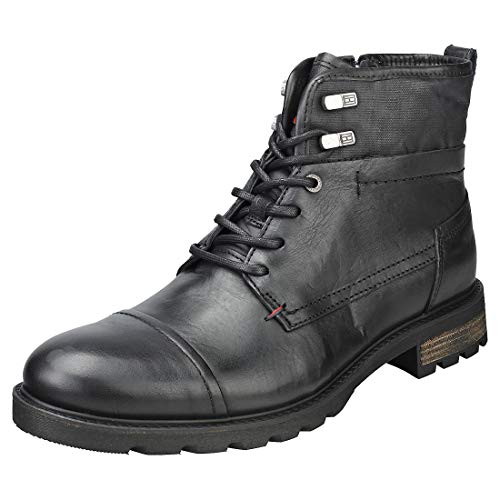 Tommy Hilfiger Winter Mens Casual Boots in Black - 43 EU