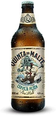 CERVEJA EXTRA TIPO PILSEN Cervejaria Quinta do Malte 600 ml
