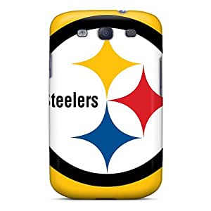 Durable Hard Phone Cover For Samsung Galaxy S3 (OoO2833UJvv) Customized Attractive Pittsburgh Steelers Series