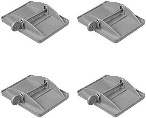 ProPlus 4x XL St/ützplatten f/ür die Eckpfosten Bietet zus/ätzliche Stabilit/ät f/ür Wohnwagen caravan accessories Wohnmobile und Camper