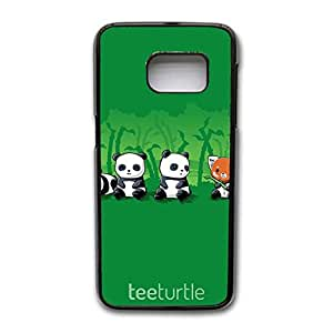 Samsung Galaxy S7 Edge Safekeeping Phone Case Discount Fashionable Mobile Cover Back Snap on Samsung Galaxy S7 Edge Three Brown Bears And Pandas Print Cell Shell