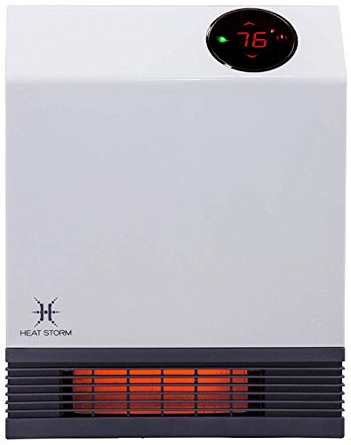 Heat Storm Deluxe Infrared Wall Heater White
