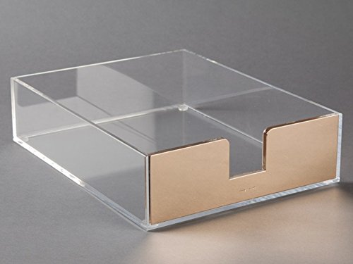 amazoncom kate spade new york acrylic letter tray gold office products