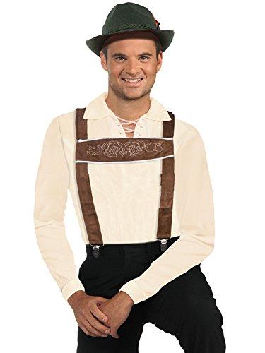 Forum Novelties Lederhosen Adult Costume Suspenders -