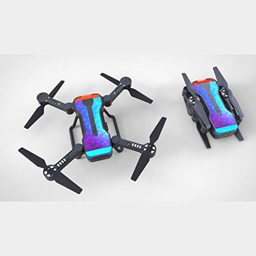 LikeroSimtoo 2.4GHz FPV WiFi 720P Camera Air Pressure Constant RC Drone Quadcopter,Beginners -Controlled Through The Mobile Phone App -One-Key Start&one-Key Landing (Black) by Likero (Image #4)