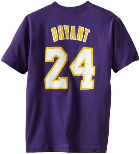 cheap for discount 0d24d dedbc Buy Kobe Bryant Purple adidas Player Name and Number Los ...
