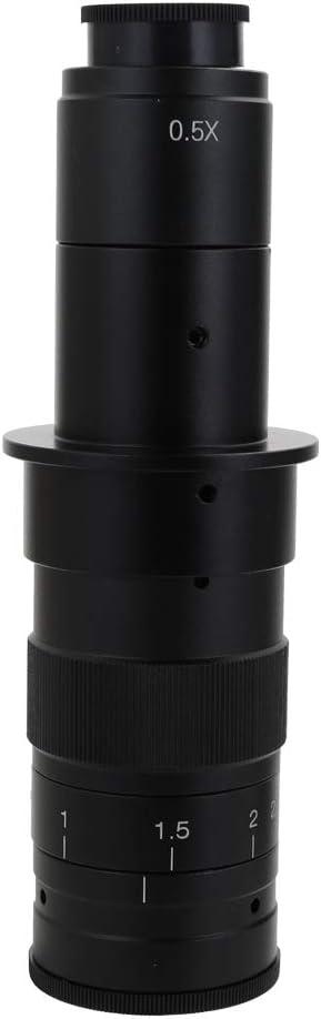 Kkmoon Einstellbare 180x 120x 300x 200x 130x Zoom C Mount Objektiv 0 7x 4 5x Vergrößerung 25mm Für High Definition Multimedia Interface Usb Industrie Video Mikroskop Kamera Baumarkt