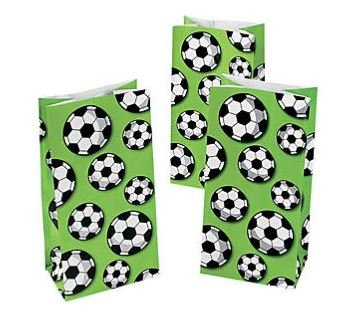 Soccer Party Bags (Soccer Treat Bags (24 Bags) Paper)