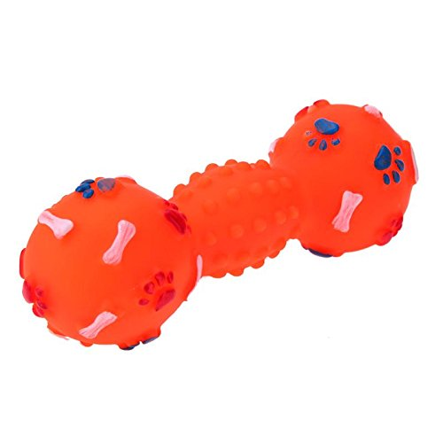 (Monster* Dog Toy 1PC Pet Dog Toy Squeakers Sound Toys for Dog Puppies Playing Balls Pet Chewing Toy Dog (Orange))