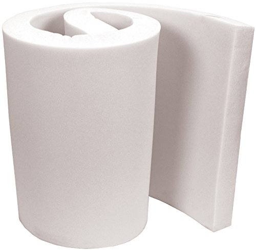 Air Lite X44882 Extra High Density Urethane Foam, 82-Inch x 48-Inch x 4-Inch, White by Air Lite