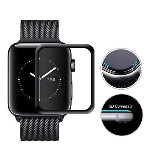 BATOP Apple Watch Screen Protector || 3D Full Cover Anti Shatter Soft Edge Tempered Glass