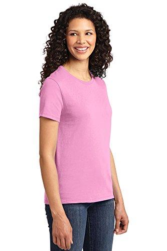 Pink nbsp;esencial Lpc61 Port Portuaria Autoridad De candy Rosa Puerto amp; Company Camiseta Mujer La zWWZcBOA