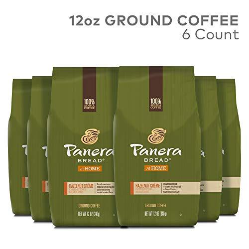 - Panera Bread, Hazelnut Creme, 12 oz. Ground Bag, Light Roast Coffee, (6) Bags