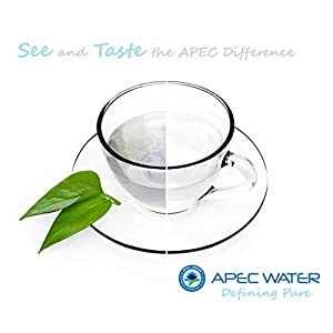 APEC Portable Countertop Reverse Osmosis Water Filter System With Case, Installation-Free, Fits Most STANDARD FAUCET (RO-CTOP-C)
