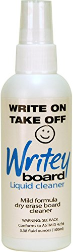 Writeyboard 3.38 Ounce Mild Formula Dry Erase Board Cleaner (40001)
