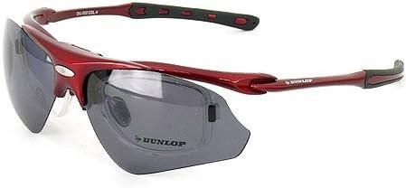 ダンロップ 無料 度付きレンズ付き インナーフレーム (サングラス 交換 レンズ 計3枚付) DU-002