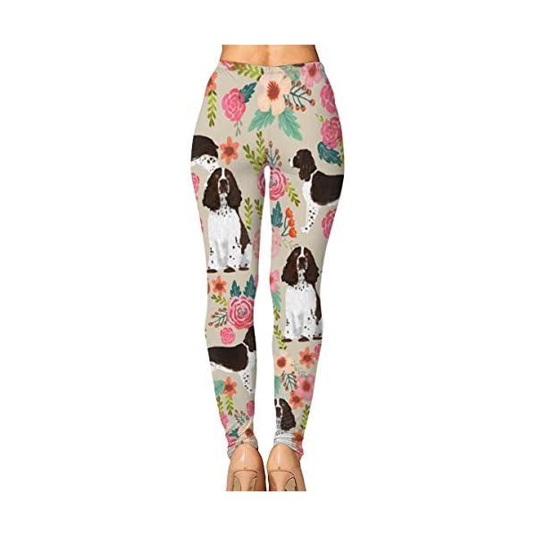 High/Mid-Waist Yoga Sport Pants for Yoga Running Pilates Gym, Capri Leggings 2