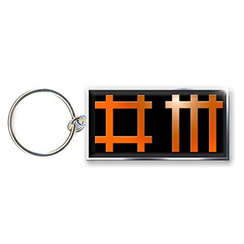 Depeche Mode Keyring Keychain Band Logo Official Metal ()