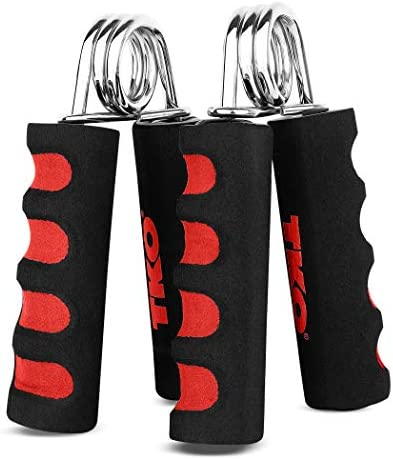 TKO Extreme Hand Strengthener Grip 2 Pack for Hand and Forearm Strength