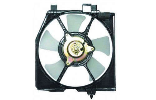 Affordable Radiators A1704 Mazda Protege AC Fan assembly 95-04 - Protege Mazda Fan Auxiliary