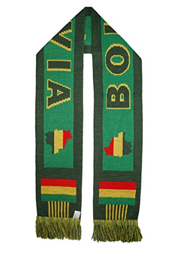 WORLD CUP 2018 FANS FAVORITE SOCCER SCARVES (BOLIVIA)