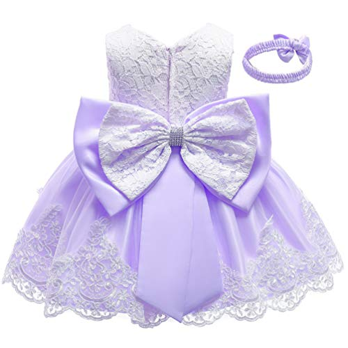 Christening Flower Dress Princess Formal product image