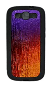 Glass TPU Case Cover for Samsung Galaxy S3 Case and Cover - Black