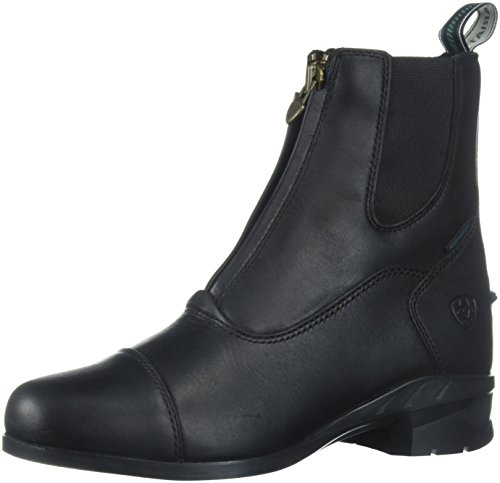 Ariat Heritage Paddock Boots (Ariat Women's Heritage IV Zip H2O Work Boot, Black, 8 B US)