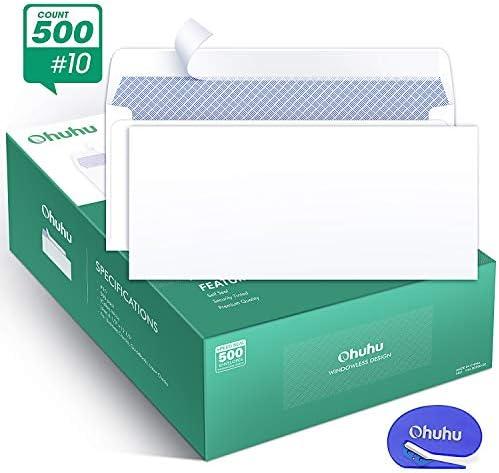 Ohuhu Envelopes Business Windowless Statements product image