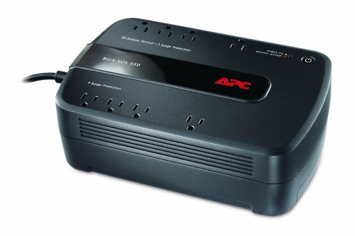 APC BE550G Back-UPS 550VA 8-outlet Uninterruptible Power Supply (UPS)
