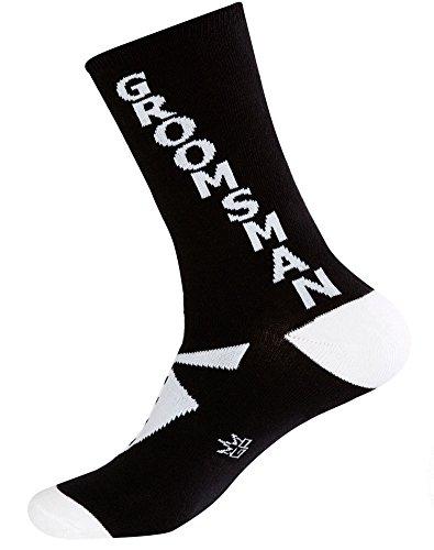 Gumball Poodle: GROOMSMAN Tuxedo Socks-One -