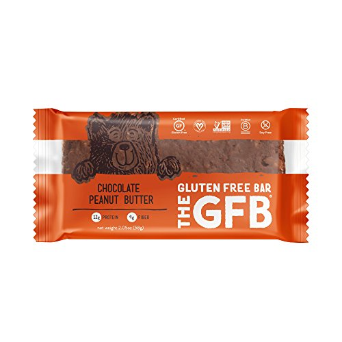The GFB Gluten Free, Non-GMO High Protein Bars, Chocolate Peanut Butter, 2.05 Ounce (Pack of (Butter Gluten Free)
