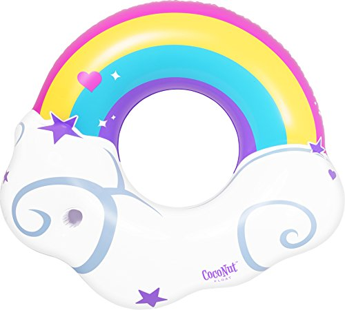 Coconut Float Rainbow Cloud, Pool Floats For Kids