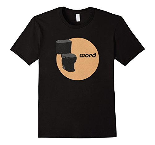 Nonsense Toilet with Senseless Word T-Shirt