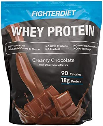 Fighterdiet Whey Protein Chocolate – 32 oz