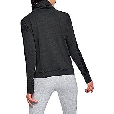 Under Armour Women's Featherweight Fleece Funnel Neck Sweatshirt: Under Armour: Clothing