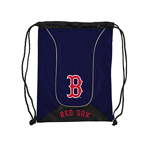 Officially Licensed MLB Boston Red Sox Doubleheader Backsack, 18-Inch, - Backpack Boston Sox Red