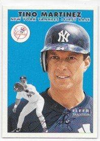 - Tino Martinez 2000 Fleer Tradition New York Yankees Card #210