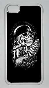 Metal Mulisha Custom PC Transparent Case for iPhone 5C