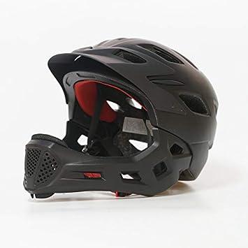 Protección Casco de Bicicleta para niños Casco Integral Ciclismo ...