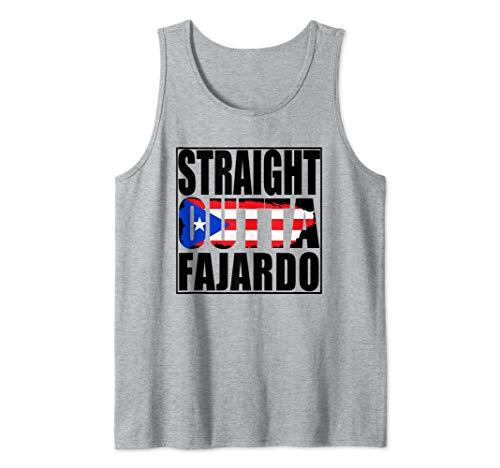 Straight Outta Fajardo Puerto Rico Tank Top