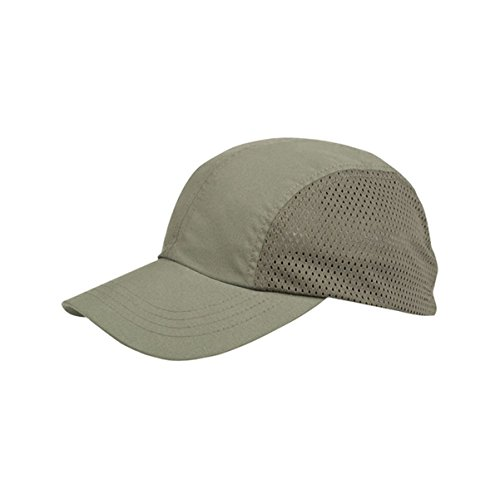 Hats & Caps Shop Casual Style Brushed Microfiber Mesh Cap - By TheTargetBuys | (D.OLIVE)