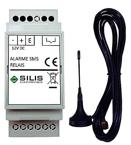 Transmisor de alarma GSM - paramétrage por SMS - Simple de ...
