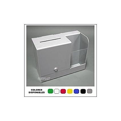 Faberplast FB413 - Buzón sugerencias, color blanco