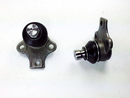 PartsW 2 Pc Suspension Kit for Volkswagen Cabrio Corrado Golf Jetta Passat Front Lower Ball ()