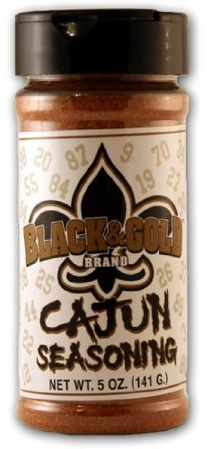 Andy Roo's Black and Gold Cajun Seasoning, 5 Ounces