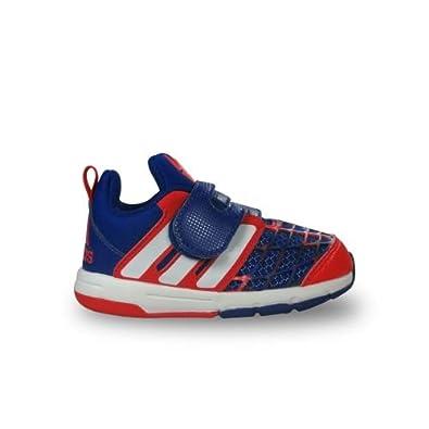 sale retailer de31f 6290b adidas Chaussure bébéEnfant Spiderman Bleu, 22