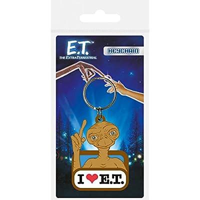1art1® E.T. L'Extraterrestre Porte-Clés - Et I Love Et (6 x 4 cm)