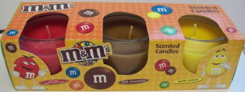 Star Brite Chocolate - M&M's Scented Candles